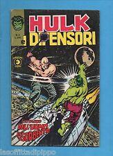 SUPER EROI - HULK E I DIFENSORI - CORNO -N.2- 4 APRILE 1975 - NON DI RESA