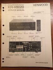 KENWOOD KR-V8020 STEREO RECEIVER ORIGINAL SERVICE MANUAL P282