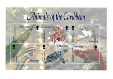 Montserrat - 2003 Animals of the Caribbean - Sheet of 6 - MNH