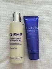 Elemis Skin Nourishing Shower Cream 100ml & Body Cream 50ml *BRAND NEW*