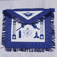 Masonic Regalia Blue Apron Master Mason Working Tools - WLC