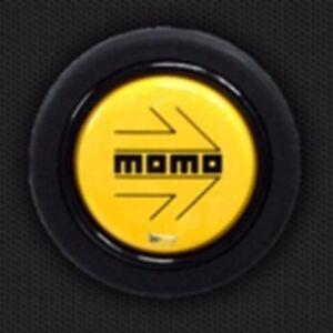 JDM OEM MOMO Steering Wheel Horn Button YELLOW HB-03 TOYOTA HONDA JAPAN