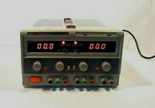 Mastech Hy3005f 3 Dc Variable Triple Power Supply Output 0 30v 0 3a 5v3a