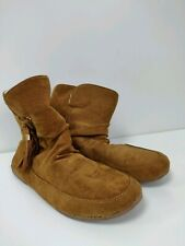 Women's Boots Size 7 Brown Ankle Boots Insulated