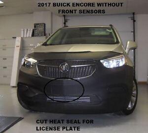 Lebra Front End Mask Bra Fits Buick Encore 2017-2021 without park assist.