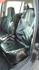 Black Leatherette Heavy Duty Front Car Seat Cover Protector For Vauxhall Opel