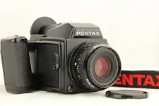 【NEAR MINT】 PENTAX 645 + PENTAX-A 645 75mm f/2.8 Lens + 120 FilmBack from JAPAN
