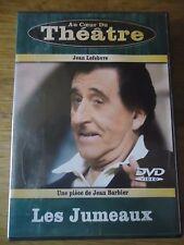 DVD *  LES JUMEAUX *  JEAN LEFEBVRE BARBIER Au coeur du Theatre FOLGOAS MINSKI