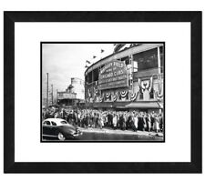 Photo File Chicago Cubs Wrigley Field Framed Print Wall Art Picture Artwork MLB