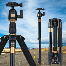Professional Ball Head Tripod for Digital Canon Fuji Sony Camera DSLR Q555