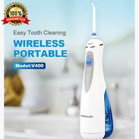 Cordless Water Flosser Dental Oral Irrigator Teeth Cleaner Floss Pick Travel AU