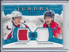 11-12 Artifacts Alex Ovechkin/Nicklas Backstrom Tundra Tandems Jersey #d/225
