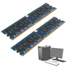 2GB 2X1GB Memory RAM DDR2 PC2-5300 5300U 667Mhz DIMM 240-Pin Non-ECC PC Desktop