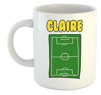 Claire Sporteinlage Bild Namen Becher - Personalisiert Geschenk für - Hobby