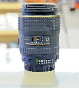 TOKINA 100mm f2.8 MACRO AT-X M100 AF PRO D LENS FOR NIKON F MOUNT (UTN116)