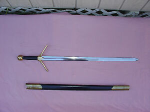 Deepeeka Scottish Clan Highland Great Sword Middle Ages Sidearm Renaissance
