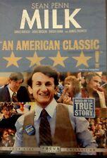 Milk (DVD, 2009) Sean Penn New DVD in Shrinkwrap.