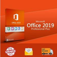 Microsoft Office 2019 32/64 Bit Professional Plus  Activation Product Key