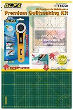 Olfa Rty-st/qr set C£tter rotativo Rty-2/g plancha de corte Rm-ic-c