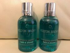 Molton Brown 2 x 100 ML energizzante seamoss Bath & Shower Gel Nuovo