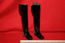 DID DRAGON IN DREAMS 1/6TH SCALE BLUES AND ROYALS TALL BLACK BOOTS