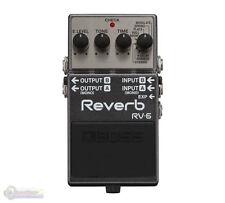 Boss RV‑6 Digital Delay/Reverb Guitar Effects Pedal