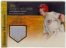 DREW STUBBS 2012 Topps Golden Moments Jersey Relic 20/99 Gold Sparkle Rockies
