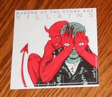 Queens of the Stone Age Villains Sticker Original Promo Square 4x4