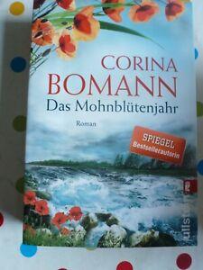 DAS MOHNBLÜTENJAHR*Corina Bomann*Liebe-Schicksal-Roman*Taschenbuch*gebraucht