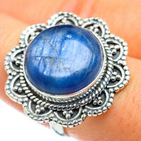 Large Kyanite 925 Sterling Silver Ring Size 8.5 Ana Co Jewelry R43800F