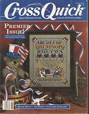 CROSS QUICK Mag ~ PREMIER Issue ~ 18 Designs