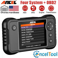 OBD2 Automotive Scanner Engine ABS Airbag Transmission Code Reader Diagnostic