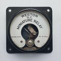 Vintage Weston Model 634 D.C. Miniature Relay