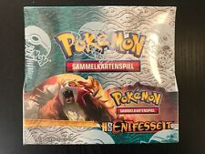 Pokemon TCG HGSS Entfesselt Booster Box, Display selten, deutsch - rare OVP!