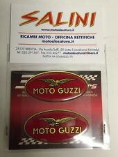 Adesivo coppia stemma Moto Guzzi resinati
