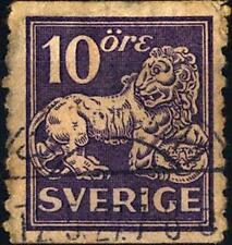 SWEDEN - SVEZIA - 1925-1926 - Leone di Vasa
