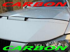 Silber Carbon Optik BRA Audi A6 C6 4F Bj. 04-11 Steinschlagschutz Haubenbra