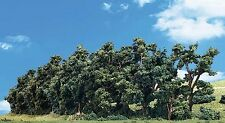 """Woodland Classics TR3581 Trees 'Hedgerow' 1"""" - 2"""" N,OO,O Scale - Tracked 48 Post"""