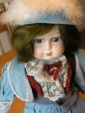 "Beautiful House Of Global Art / Ta Chin Bisque Victorian Child Matador Doll 22"""