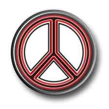 Ban The Bomb 1 Inch / 25mm Pin Button Badge Peace Hippy Protest Love 1960's Fun