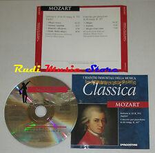 CD MOZART Sinfonia 41 k 551 JUPITER concerto per pianoforte in do+ 467 lp mc dvd