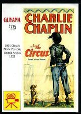 Guyana 2548, Mnh,Charlie Chaplin, the Circus, Poster, Dog. x7986