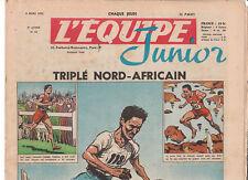 L'Equipe Junior n°41 du 6 mars 1952. Mimoun. TB