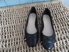 NWOB Carvela Black Ballet Pumps Size 4 (37) Look!!