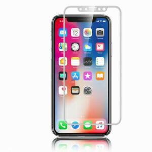 For iPhone 11 Pro Max XS XR X 8 9H Full Cover Screen Protect Tempered Glass Film