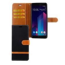 HTC U12+ Plus Étui Coque pour Portable Sac de Protection Clapet IPAD