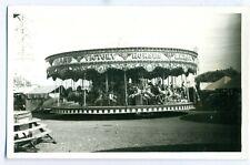 FF -0013 - Bob Wilson - Victory Horses Carousel Vintage Photograph