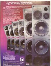 retro magazine advert 1986 TOA me monitor series