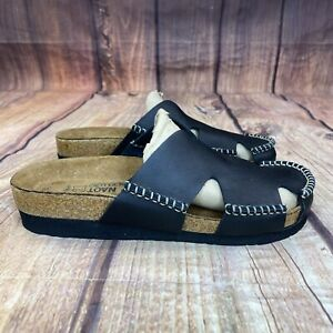 NAOT Mules Women Size 7 Slip On Shoes - Black