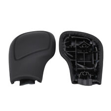 Leather Shift Knob Gear Side Cover Cap DSG For VW Golf 6 7 Passat B7 Jetta MK6